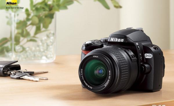 Nikon D40 SLR Digital Camera (Used)